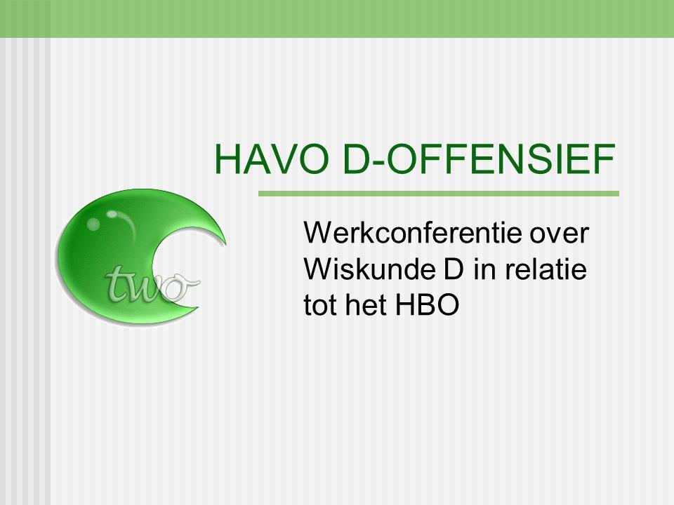 Werkconferentie over Wiskunde D in relatie tot het HBO