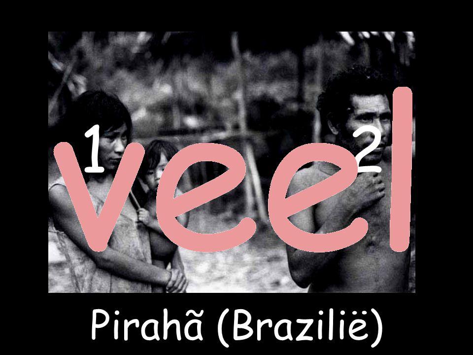 1 2 Pirahã (Brazilië)