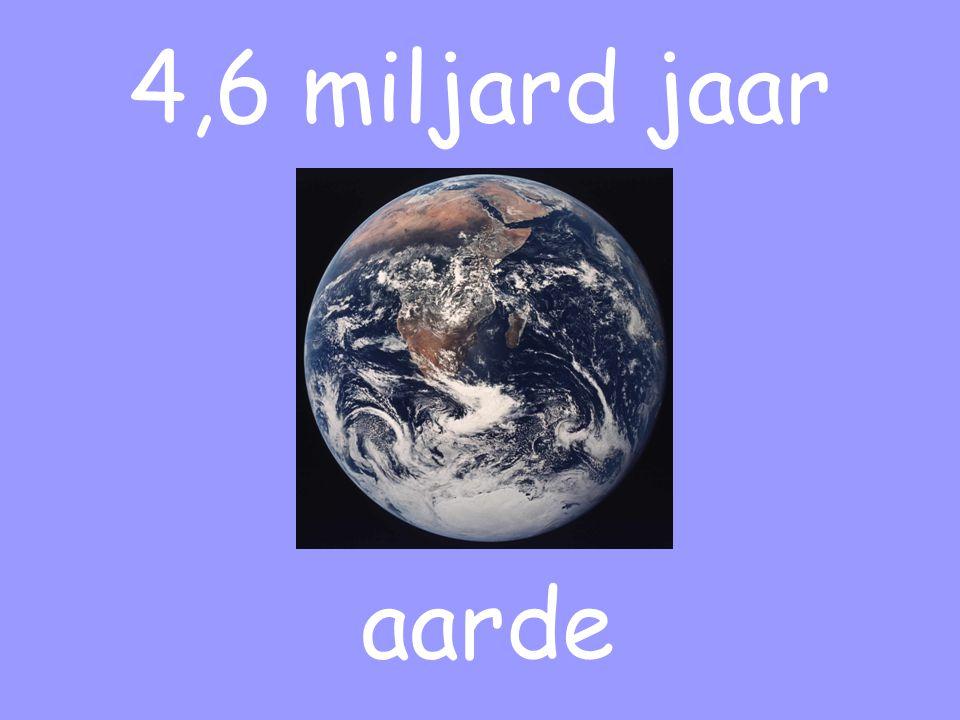 4,6 miljard jaar aarde