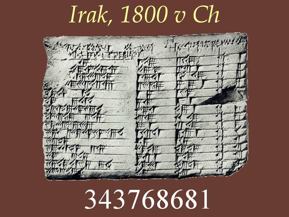 Irak, 1800 v Ch
