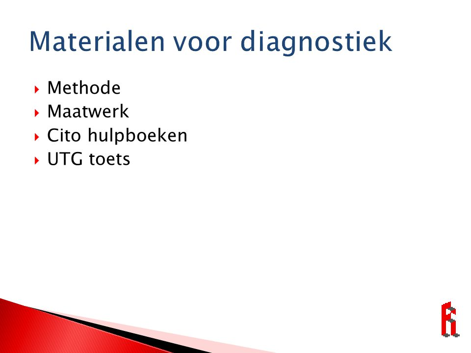Materialen voor diagnostiek