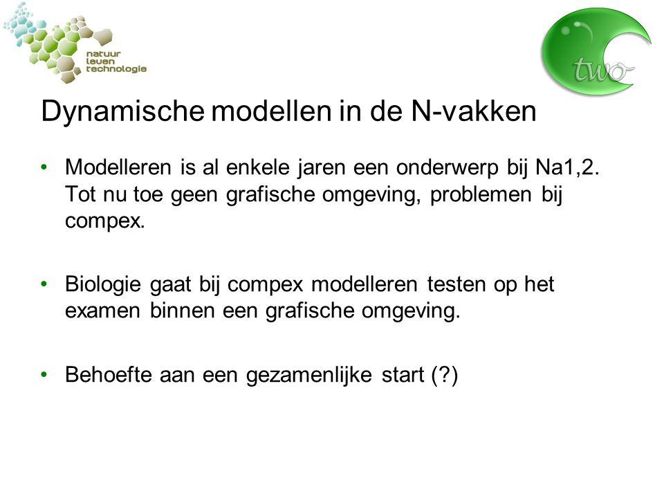 Dynamische modellen in de N-vakken