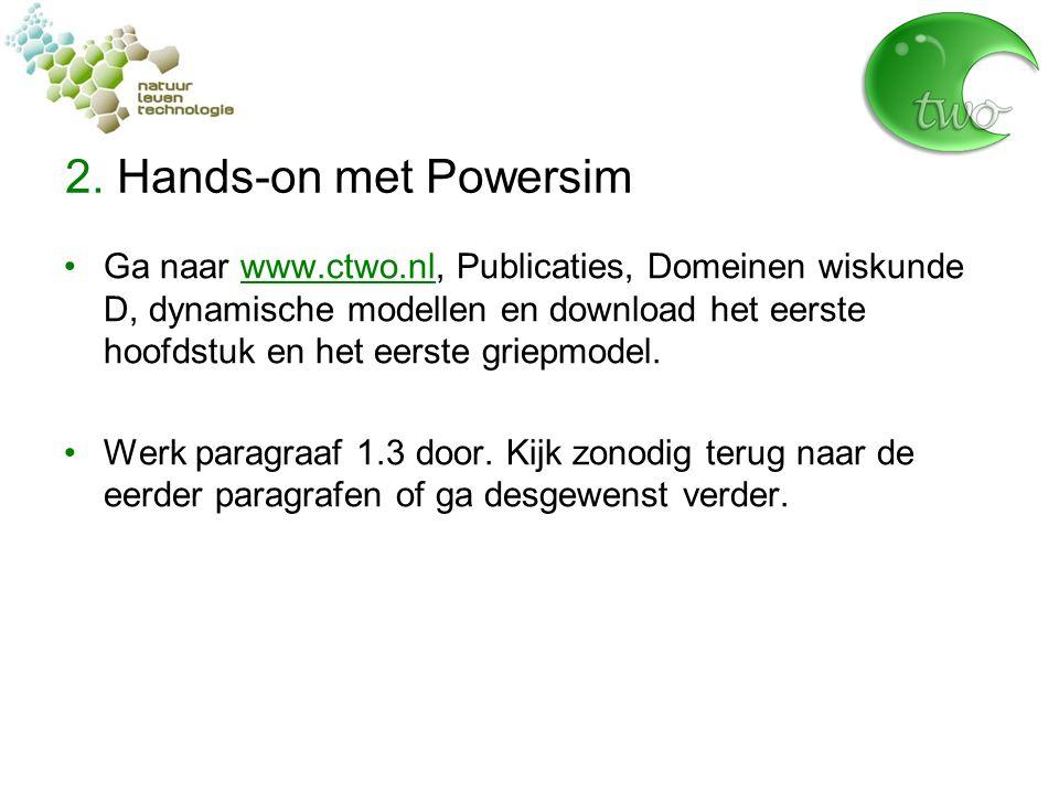 2. Hands-on met Powersim