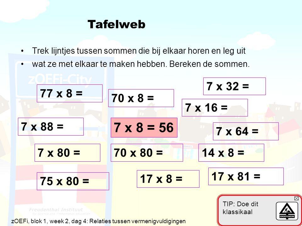 7 x 8 = 56 Tafelweb 7 x 32 = 77 x 8 = 70 x 8 = 7 x 16 = 7 x 88 =