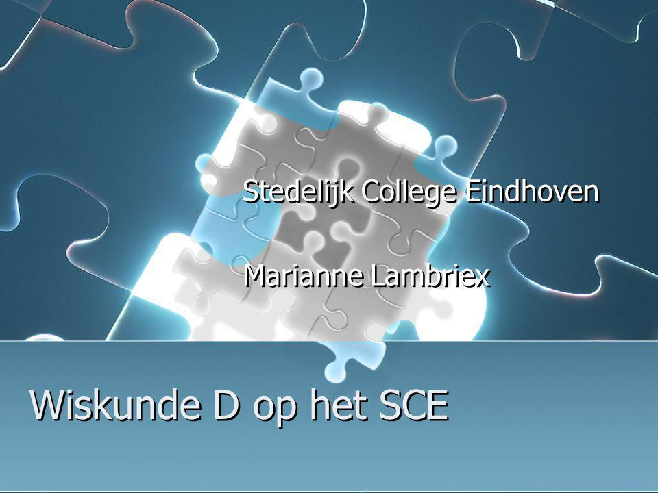 Stedelijk College Eindhoven Marianne Lambriex