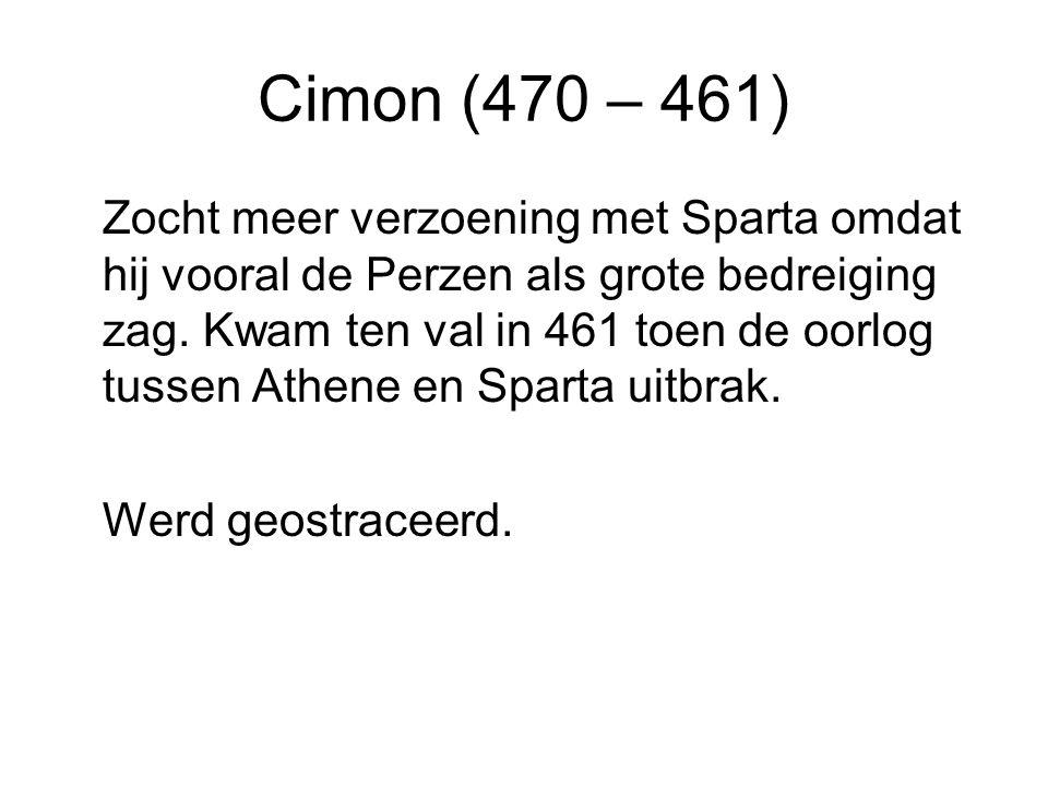 Cimon (470 – 461)