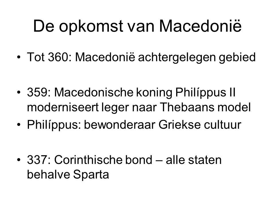 De opkomst van Macedonië