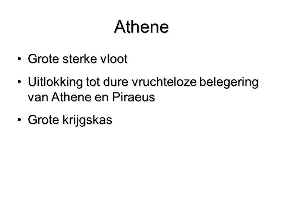 Athene Grote sterke vloot