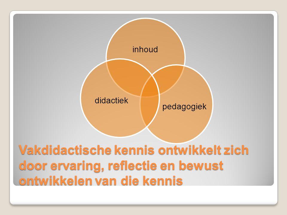 inhoud pedagogiek. didactiek.