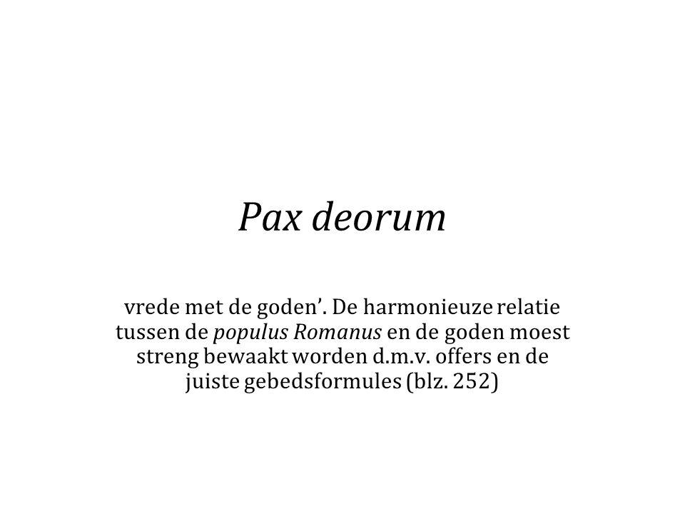 Pax deorum