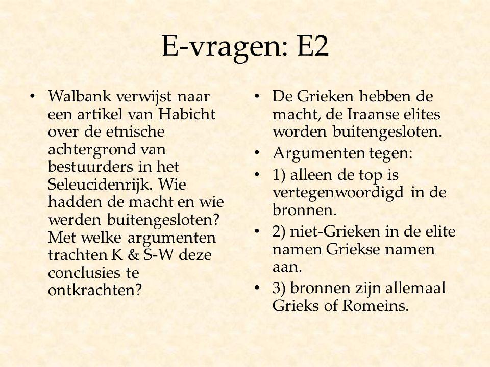 E-vragen: E2