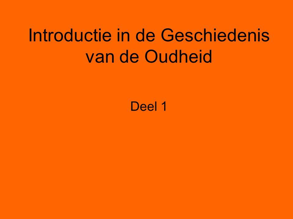 Introductie in de Geschiedenis van de Oudheid