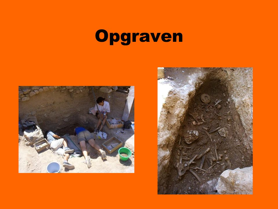 Opgraven