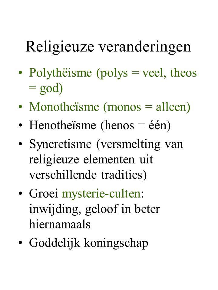 Religieuze veranderingen