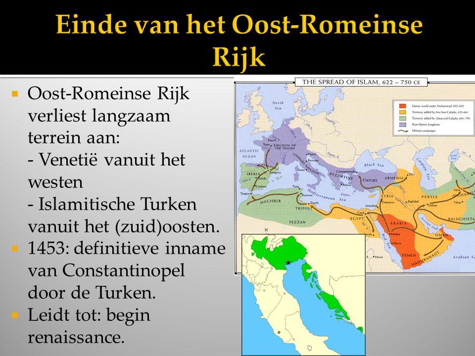 Einde van het Oost-Romeinse Rijk