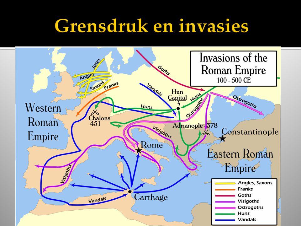 Grensdruk en invasies