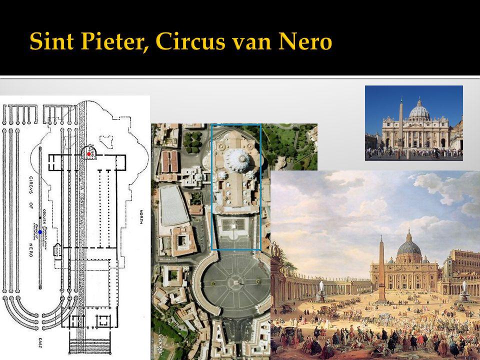 Sint Pieter, Circus van Nero