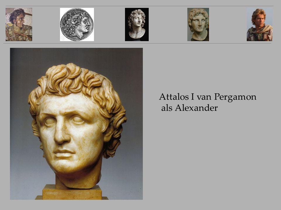 Attalos I van Pergamon als Alexander