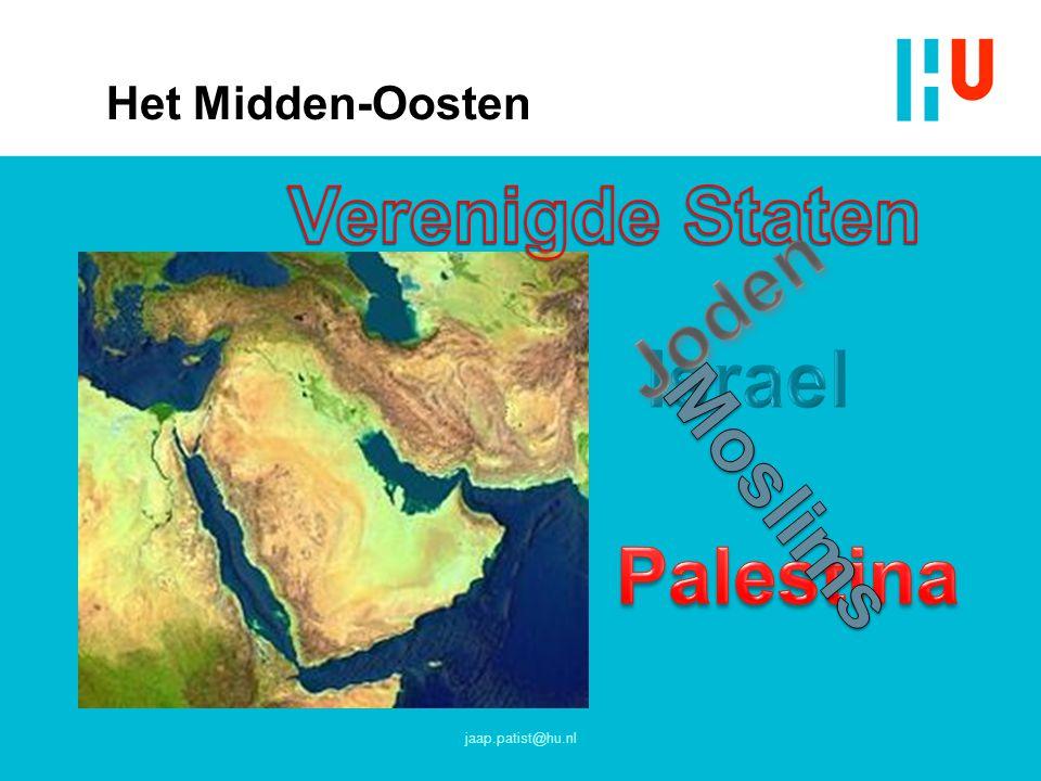 Verenigde Staten Joden Israel Moslims Palestina