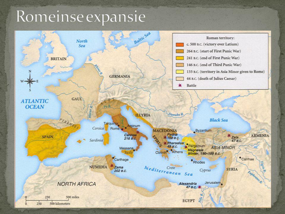 Romeinse expansie