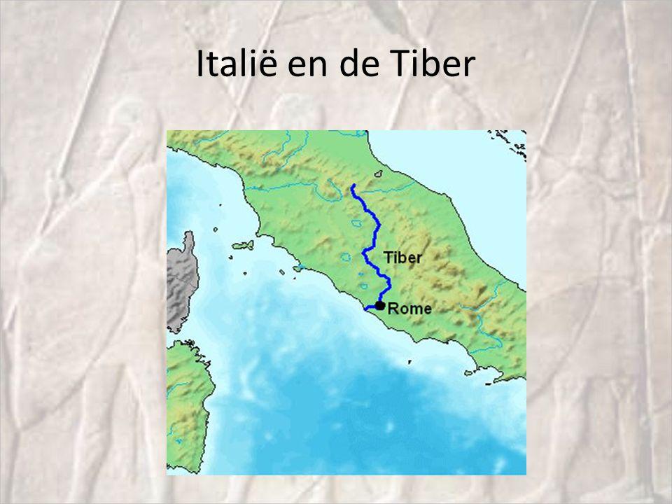 Italië en de Tiber