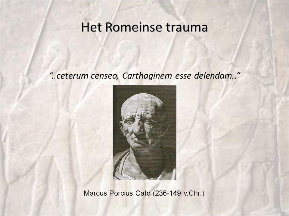 ..ceterum censeo, Carthaginem esse delendam..