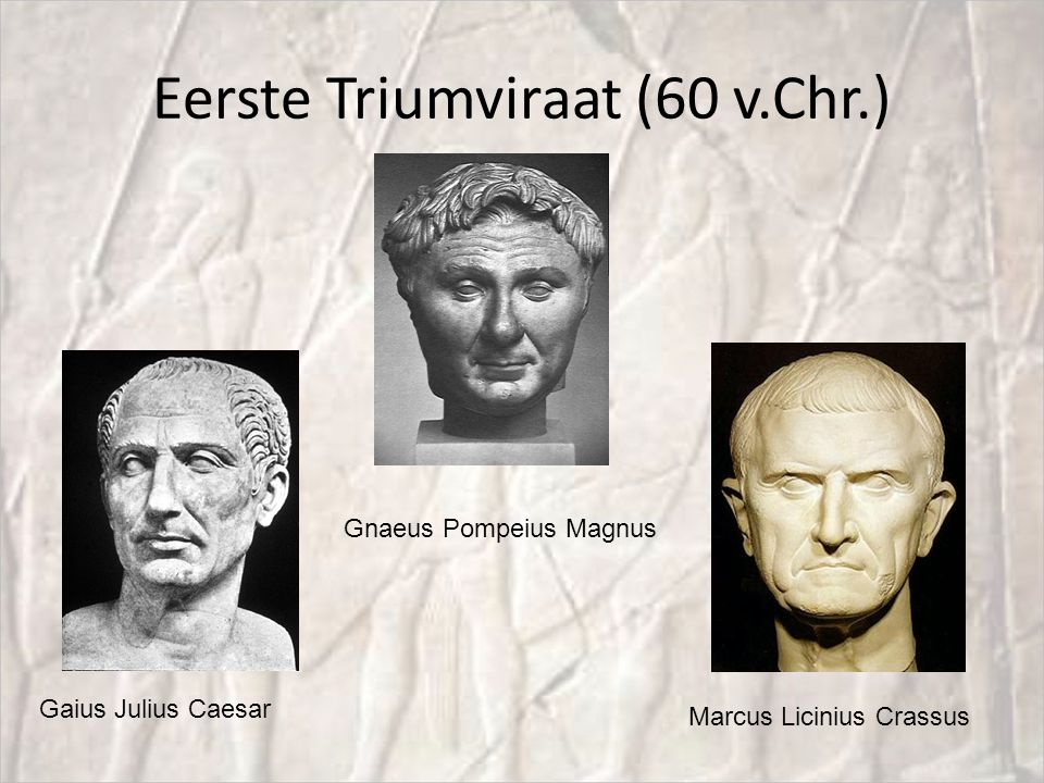 Eerste Triumviraat (60 v.Chr.)