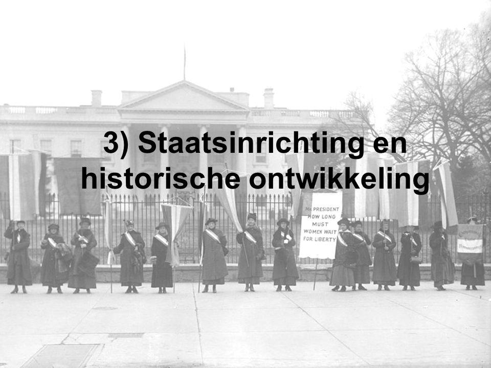 3) Staatsinrichting en historische ontwikkeling