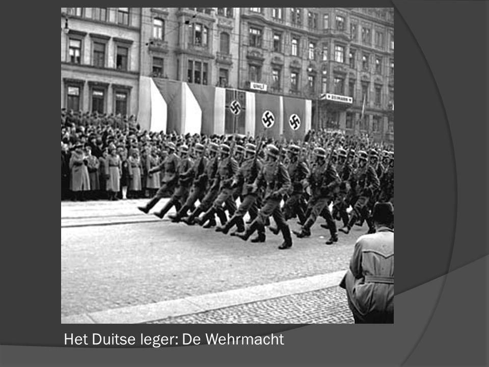 Het Duitse leger: De Wehrmacht