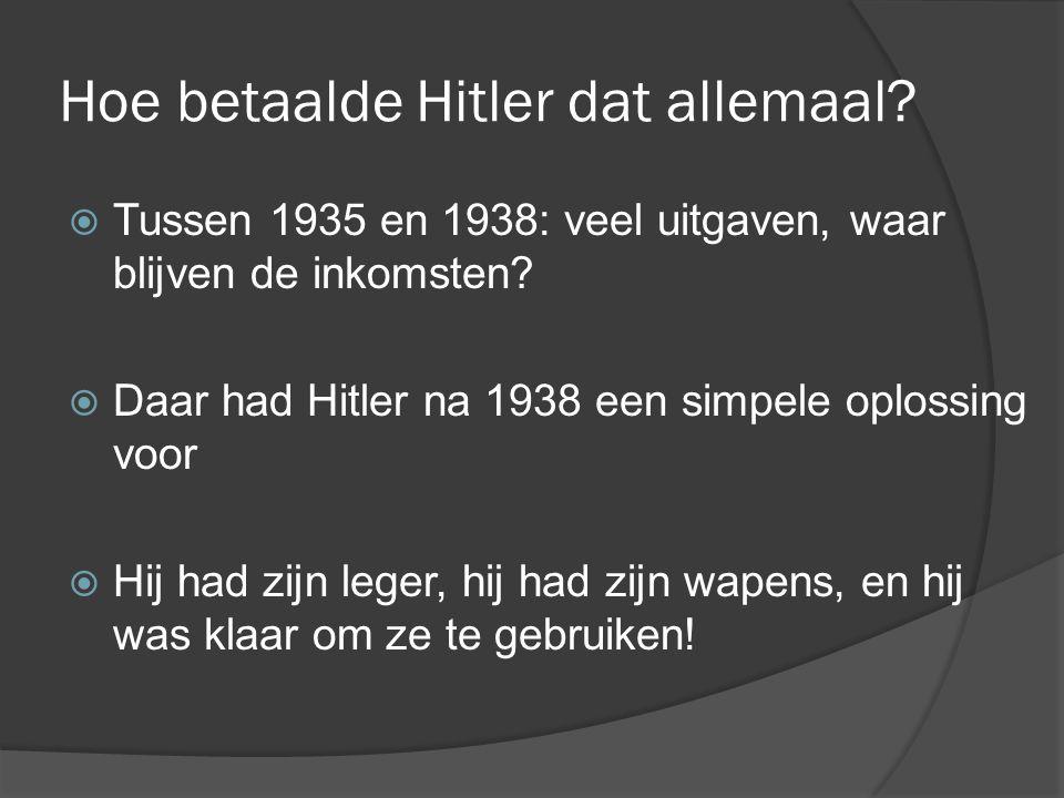 Hoe betaalde Hitler dat allemaal