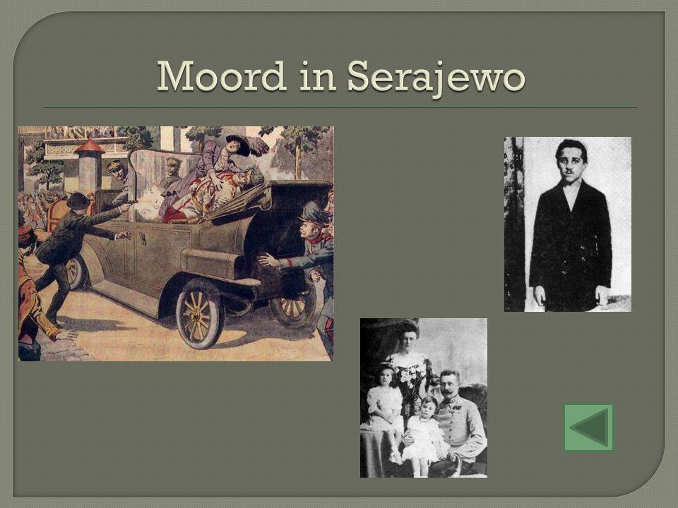 Moord in Serajewo