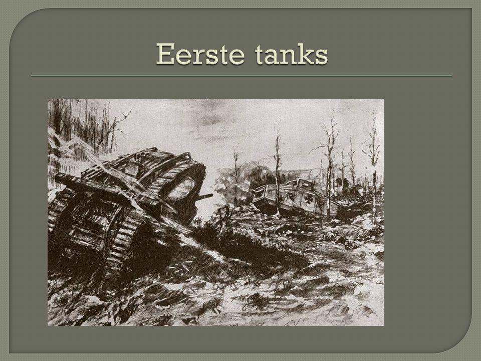 Eerste tanks