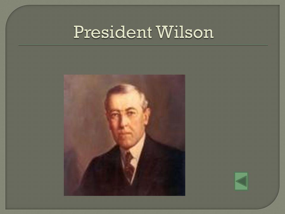 President Wilson