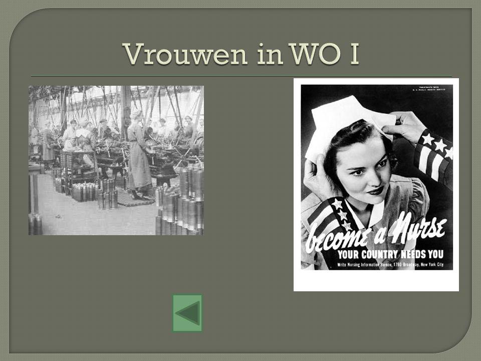 Vrouwen in WO I