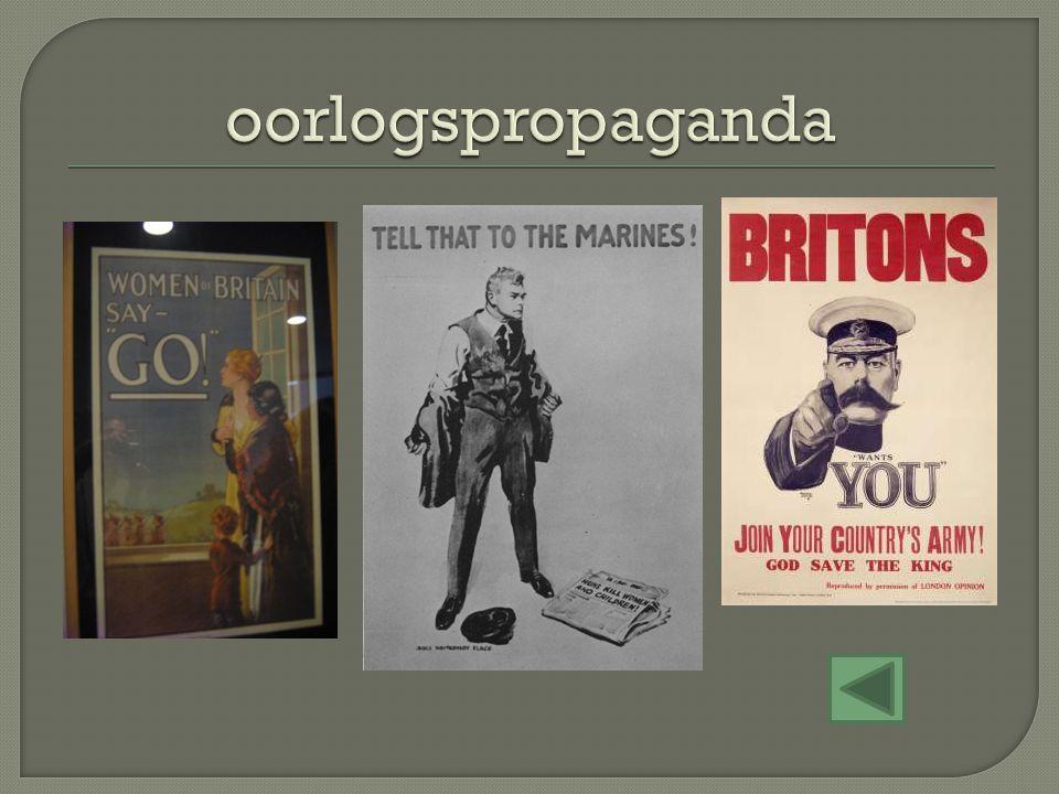 oorlogspropaganda
