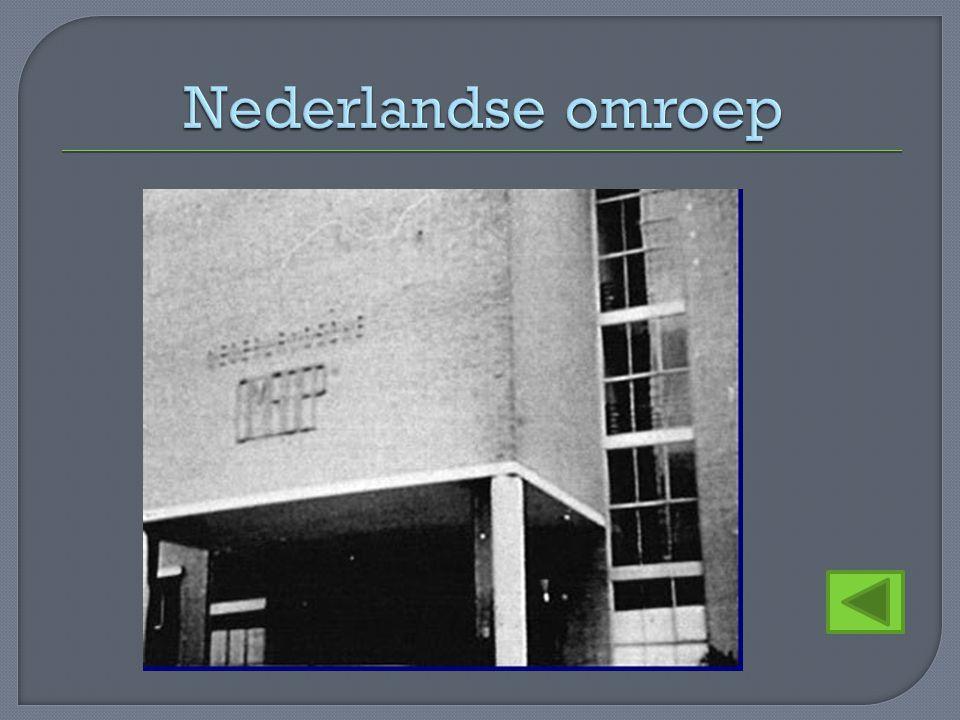 Nederlandse omroep