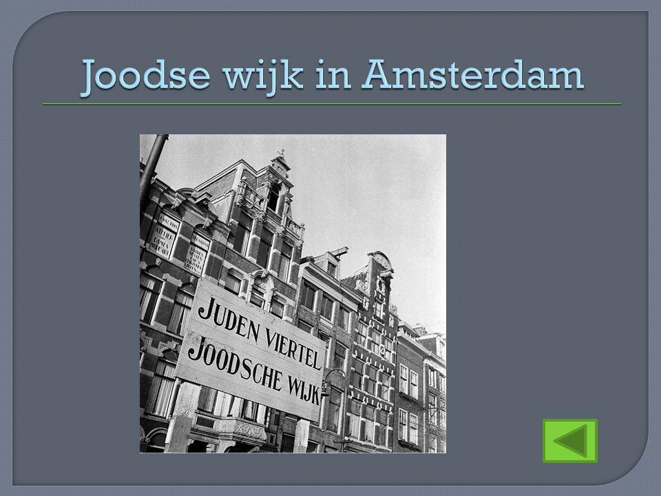 Joodse wijk in Amsterdam