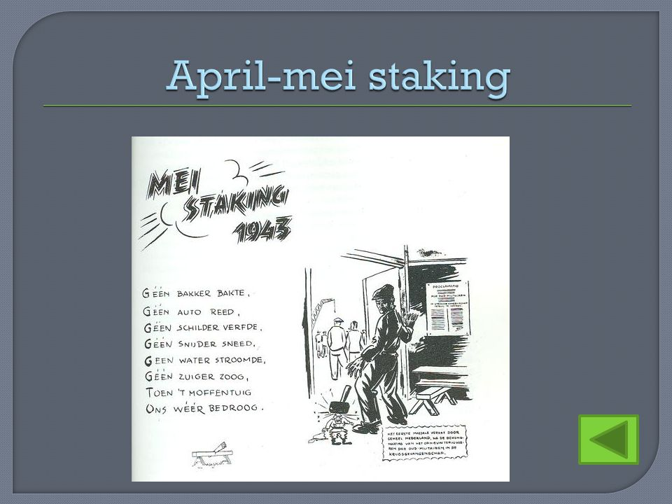 April-mei staking