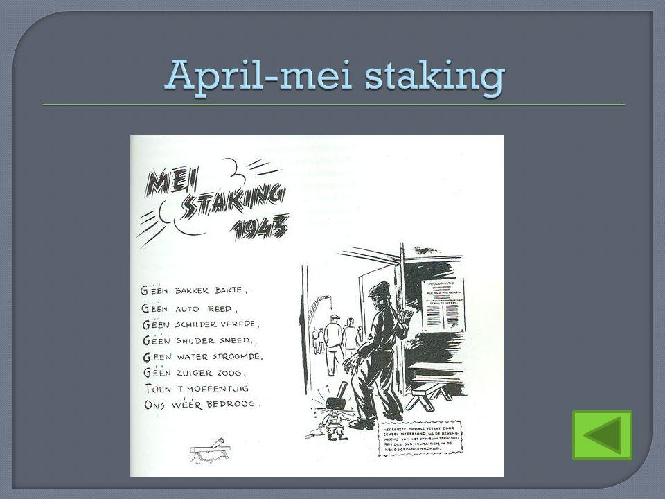 April-mei staking
