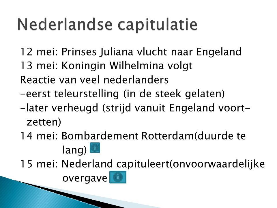 Nederlandse capitulatie