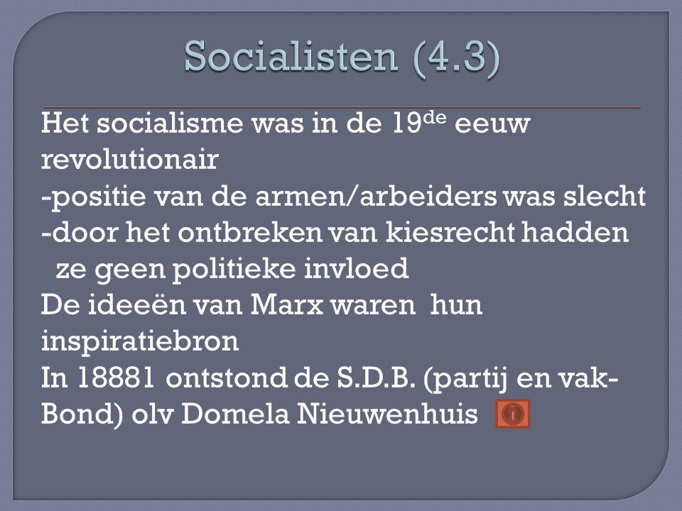 Socialisten (4.3)