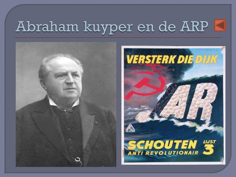 Abraham kuyper en de ARP