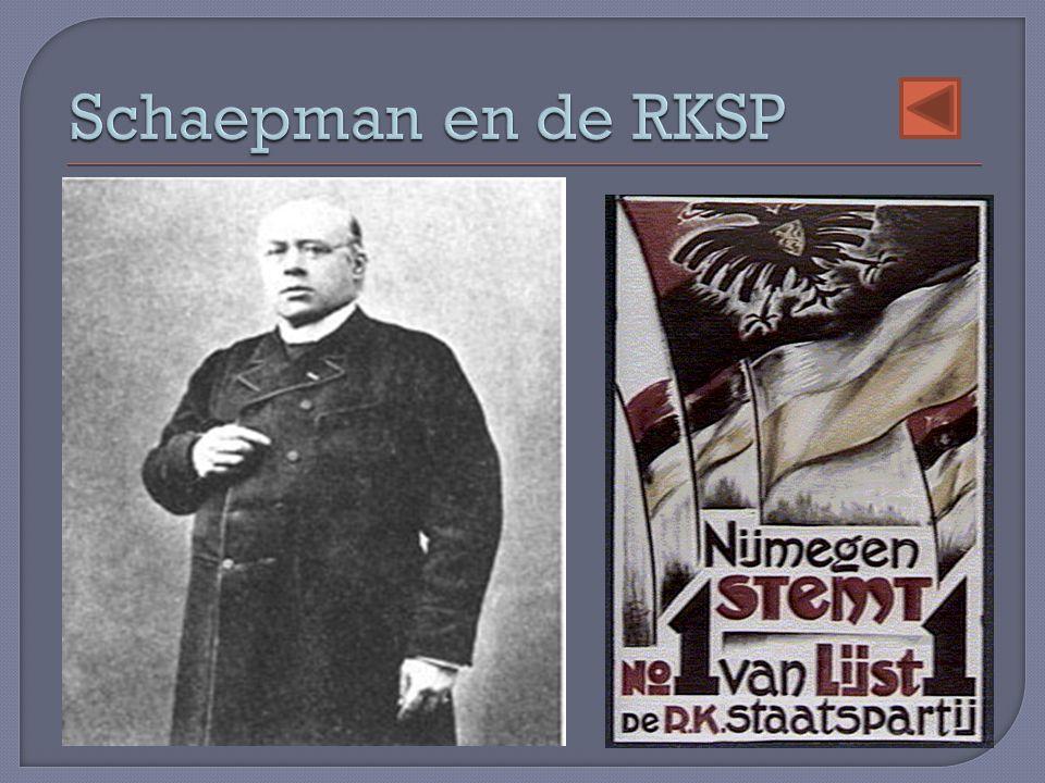 Schaepman en de RKSP