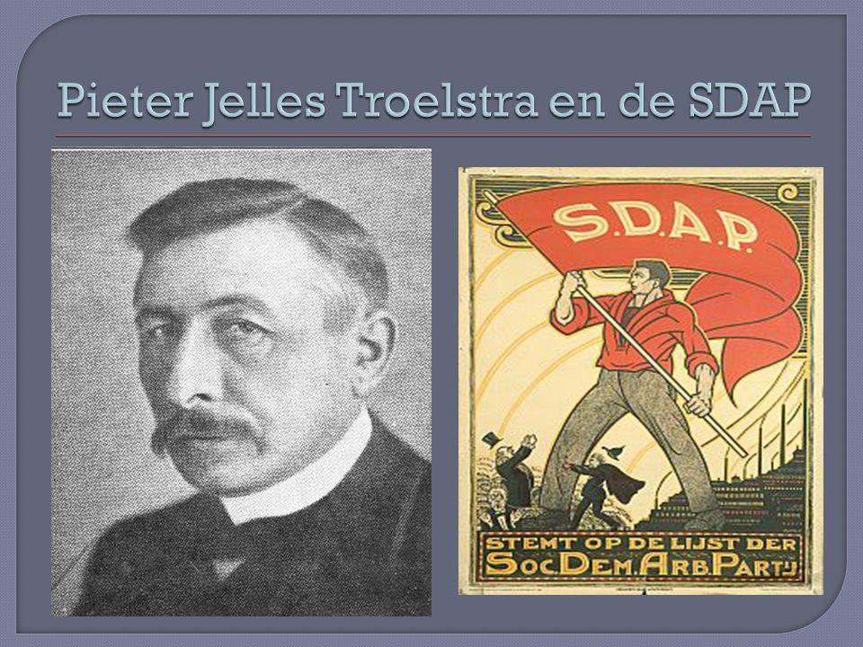Pieter Jelles Troelstra en de SDAP