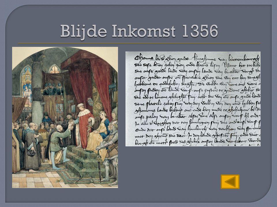 Blijde Inkomst 1356