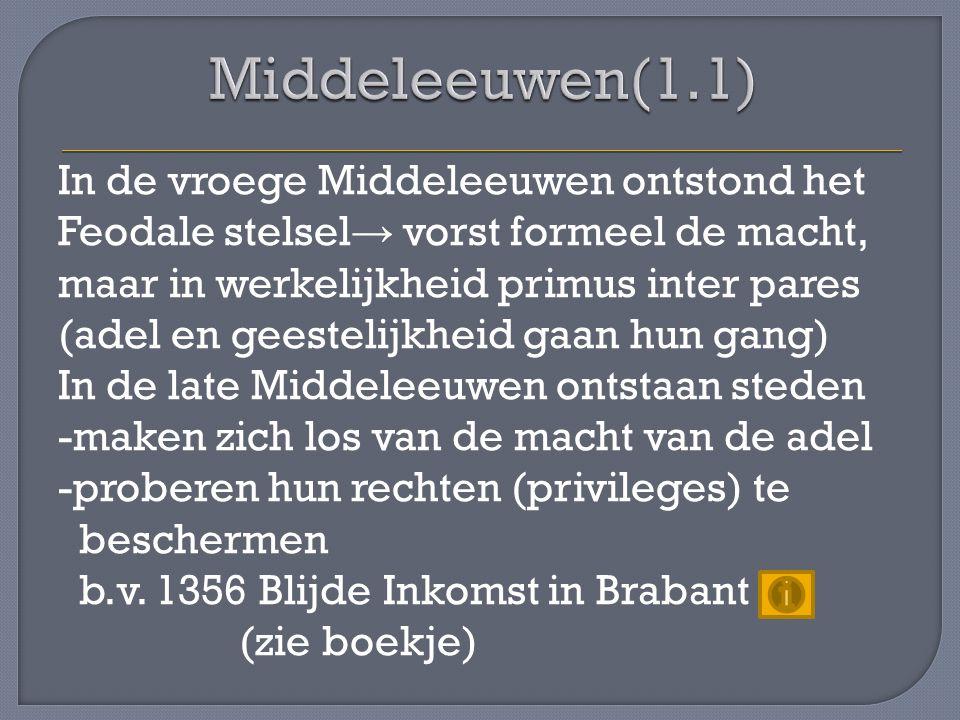 Middeleeuwen(1.1)
