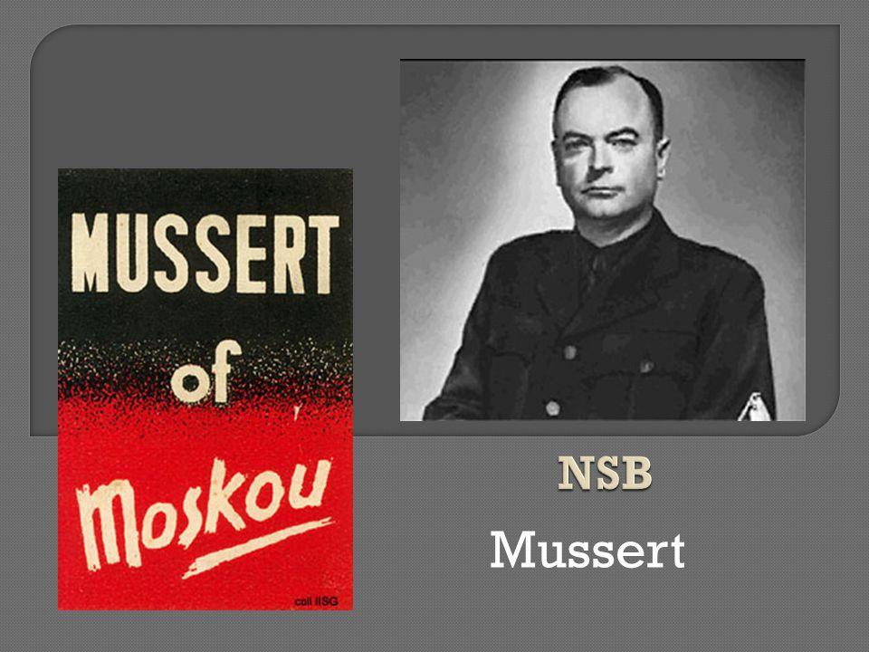 NSB Mussert