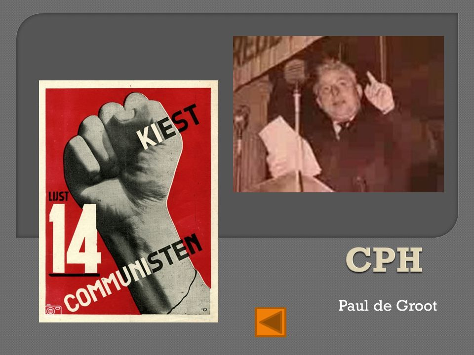 CPH Paul de Groot
