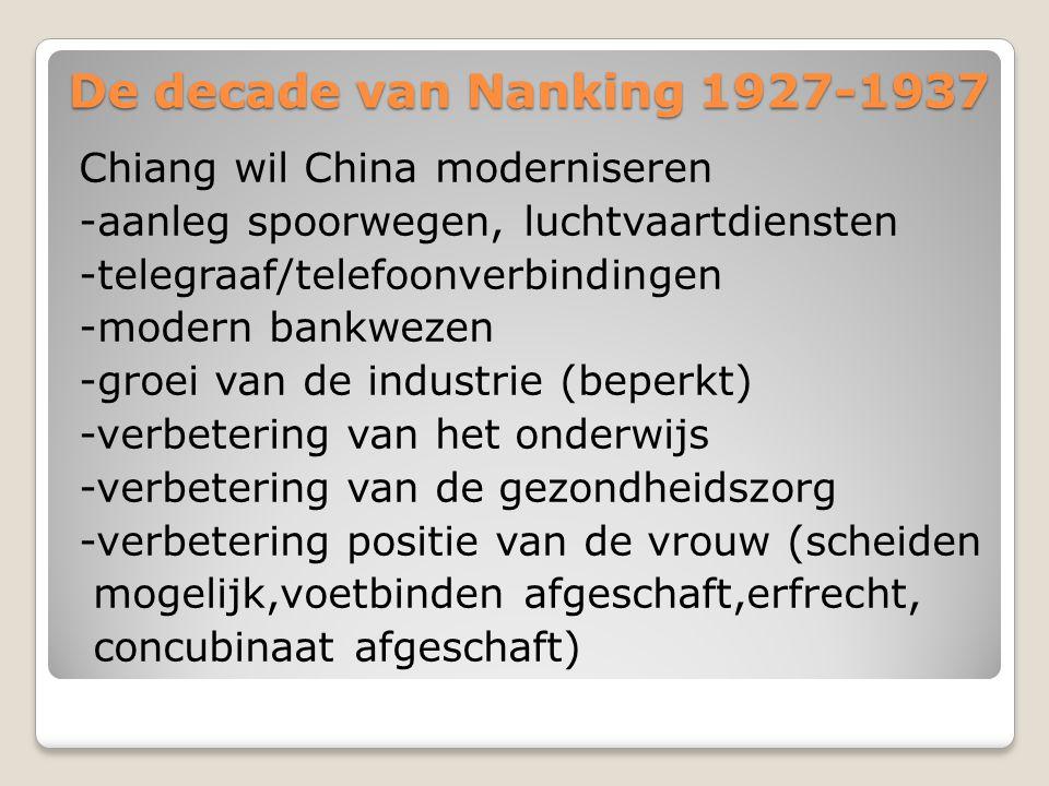 De decade van Nanking 1927-1937