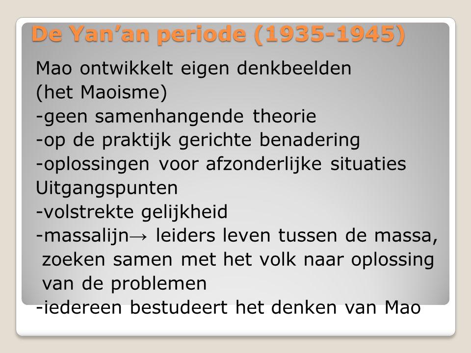 De Yan'an periode (1935-1945)